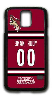NHL Arizona Coyotes Personalized Name/Number Samsung Phone C