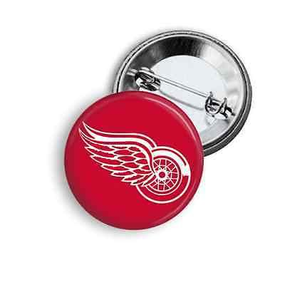 nhl hockey button pin pick your team