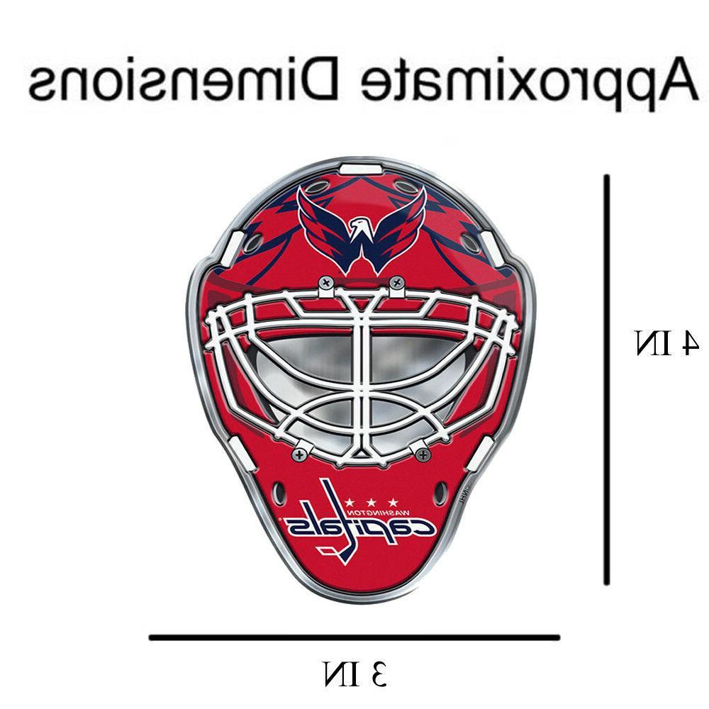 NHL Teams Premium Aluminum Emblem Hockey Van