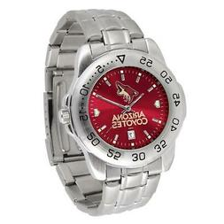 Men's Arizona Coyotes Sport Watch Stainless Steel Watch