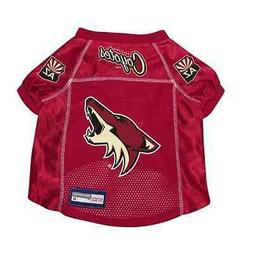 NEW ARIZONA COYOTES PET DOG PREMIUM JERSEY w/NAME TAG ALL SI