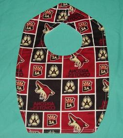 NEW BABY CHILD BIB ARIZONA COYOTES NHL HOCKEY TEAM SHIPPING