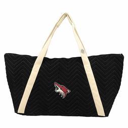 Littlearth NHL Arizona Coyotes Chev-Stitch Weekender Tote *
