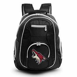 NHL Arizona Coyotes Colored Trim Premium Laptop Backpack