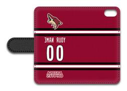 NHL Arizona Coyotes Personalized Name/Number iPhone iPod Wal