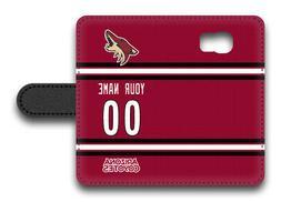 NHL Arizona Coyotes Personalized Name/Number Samsung Phone W