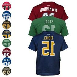 NHL Reebok CCM Team Player Name & Number T-Shirt Collection