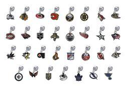 NHL European Charms for Bracelet Dangle Hockey Beads - PICK
