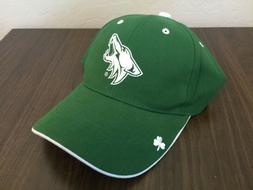 Arizona Coyotes NHL Hockey ST. PATRICK'S DAY Green SGA Adjus