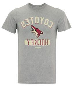 Reebok NHL Men's Arizona Coyotes Miracle Short Sleeve Go-To