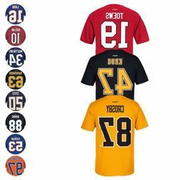 NHL Reebok Official Premier Team Color Player Name & Number
