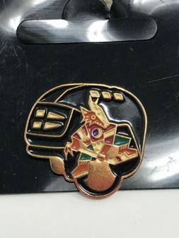 NHL Phoenix Arizona Coyotes VTG Logo Pin Helmet Coyote New N