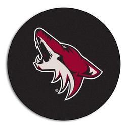 FANMATS NHL Phoenix Coyotes Nylon Face Hockey Puck Rug