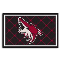 FANMATS NHL Phoenix Coyotes Nylon Face 4X6 Plush Rug