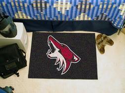 FANMATS NHL Phoenix Coyotes Nylon Face Starter Rug