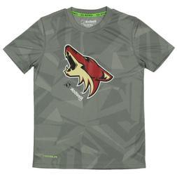 Reebok NHL Youth Arizona Coyotes Playdry Short Sleeve Frost