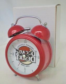 Phoenix Coyotes Arizona Alarm Clock Metal Double Bell SGA NE