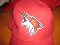 PHOENIX COYOTES ARIZONA HOCKEY NHL ADULT MENS RED BD&A BASEB