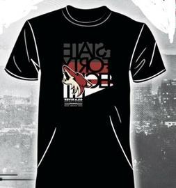 State Forty Eight Arizona Coyotes T Shirt SMALL SGA 48 Phoen