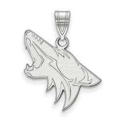 sterling silver nhl phoenix coyotes large pendant